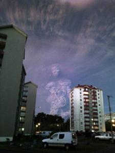 Calbuco Smoke Man