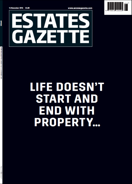 Estates Gazette cover 141115