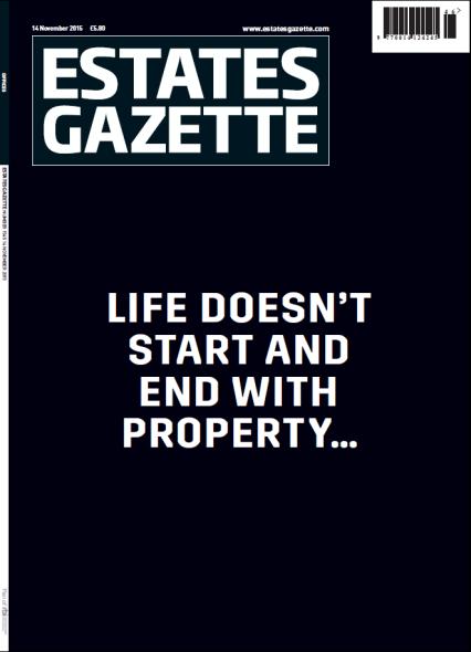 Estates Gazette cover 141115