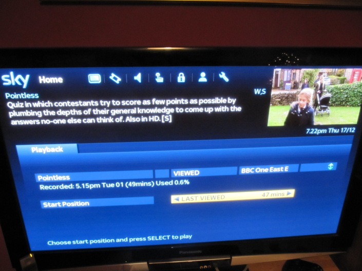 Pointless watched on 171215