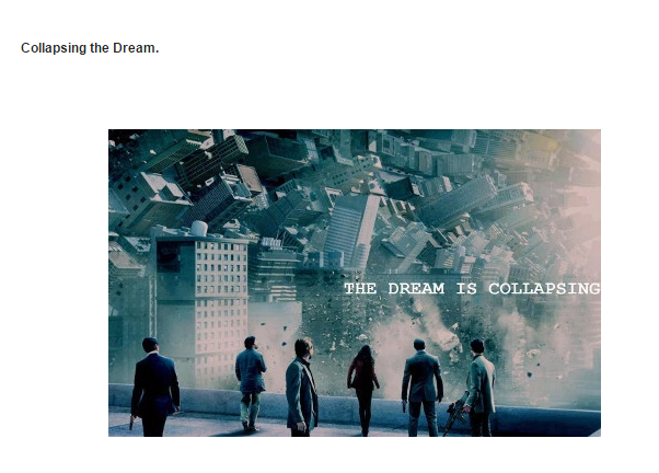 collapsing the dream