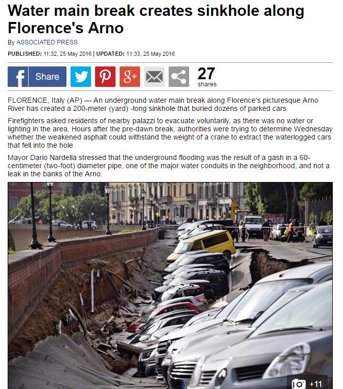Florence Sync hole