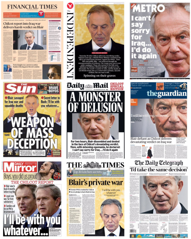blair-front-pages-chilcot