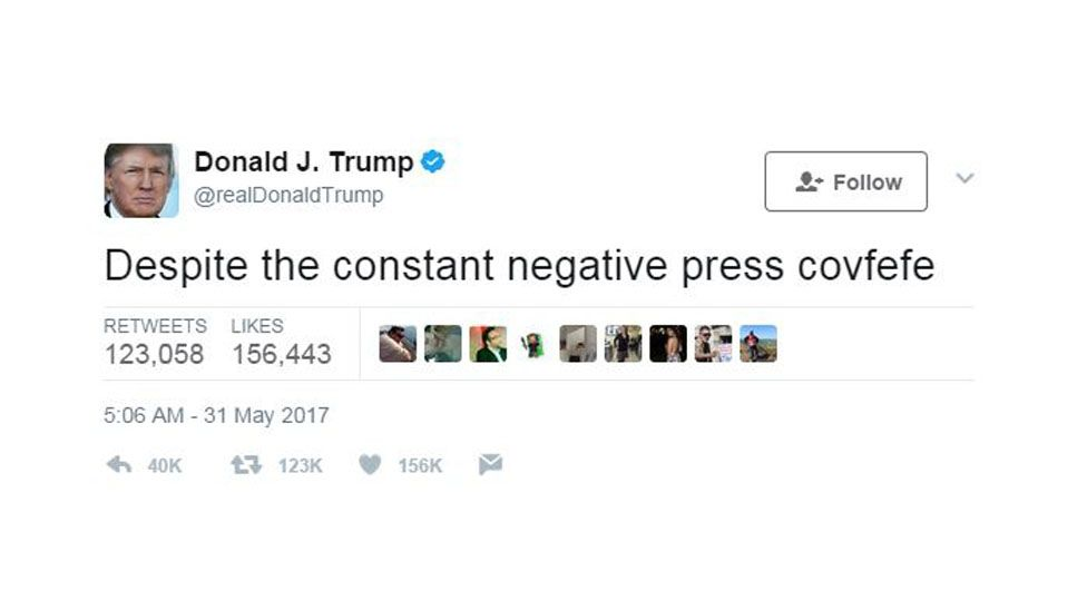 covfefe time