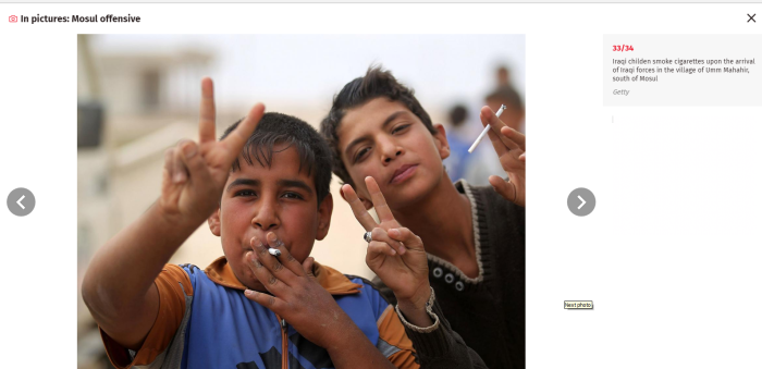 Mosul children celebrate fall of Isis.png