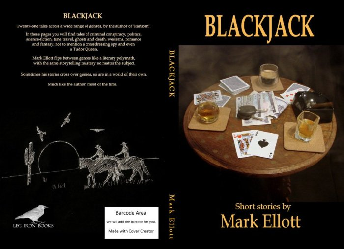 Blackjack front and back