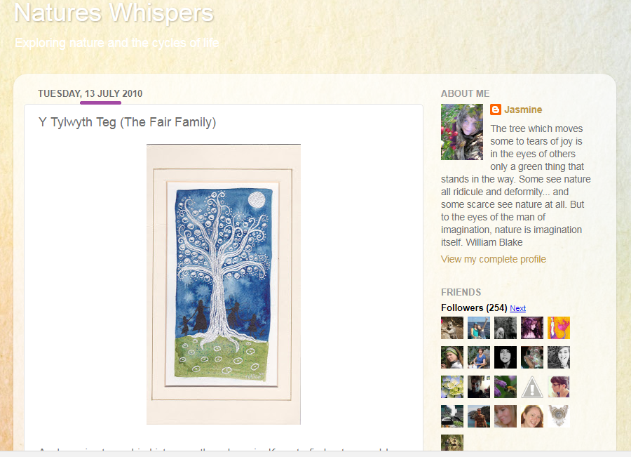 Nature's Whispers The Fair Family 13.7