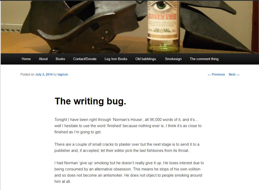 UBU The Writing Bug