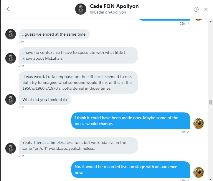 Cade and Roob DM convo 250817 10