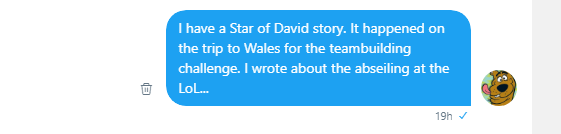 Roob explains the Star of David Moment 1