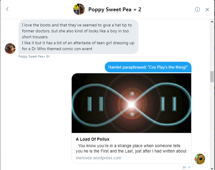 PSP and Roob discuss The Doctor's new Outfit 1