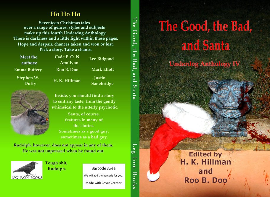 Underdog Anthology 4 Front and Back
