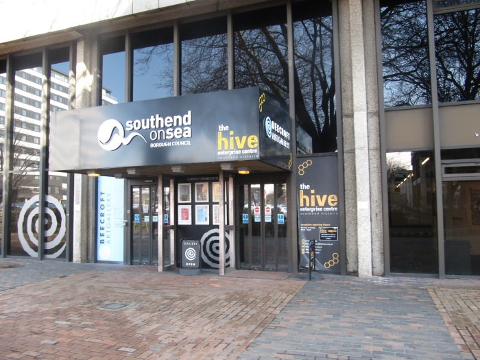Southend Beecroft Gallery in the Hive Centre