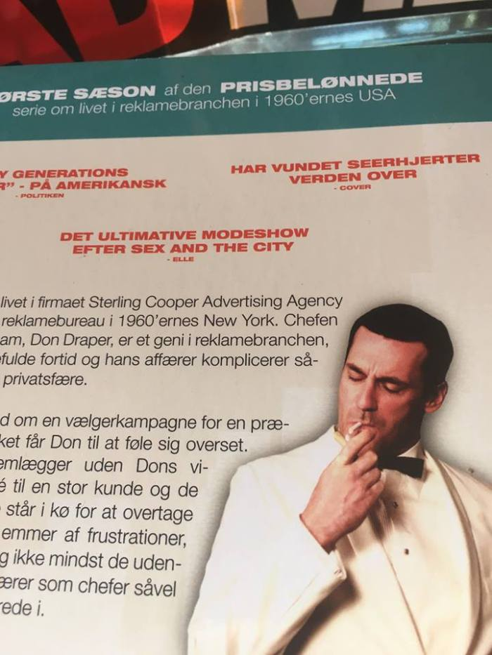 Mad Men in Danish