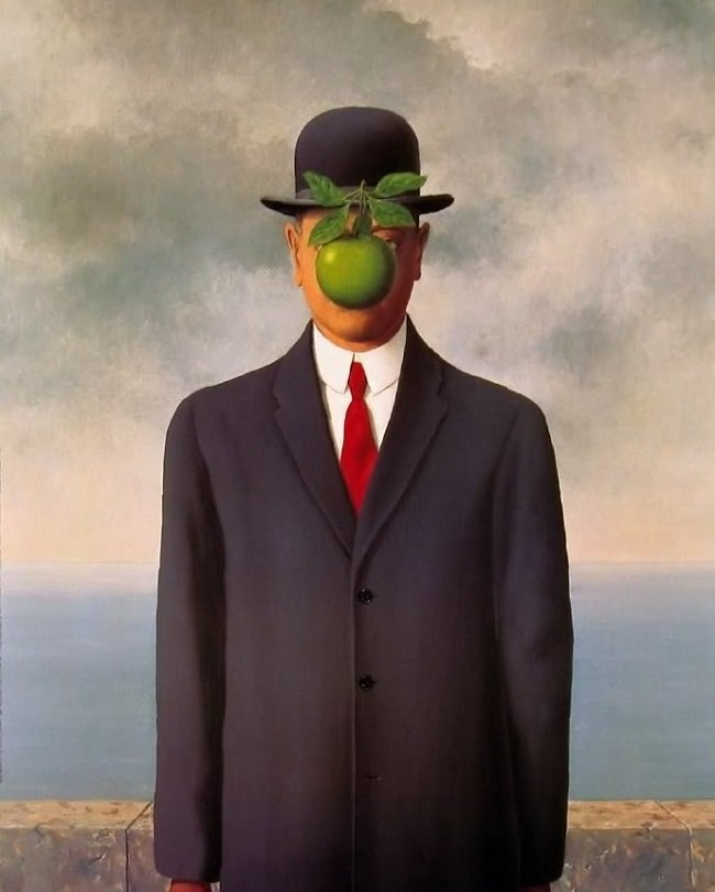 Son of Man Rene Magritte