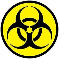 toxic biohazard symbol