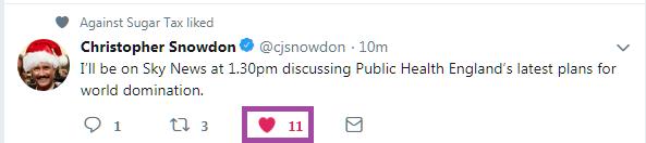 snowdon tweet like 11