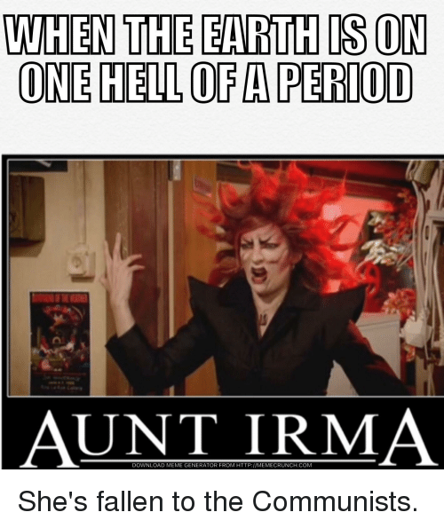 Aunt irma hair