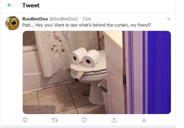 Barking Frog Tweet