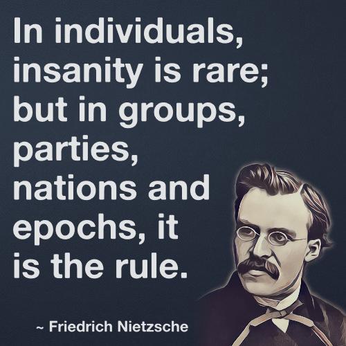 nietzsche insanity obervation
