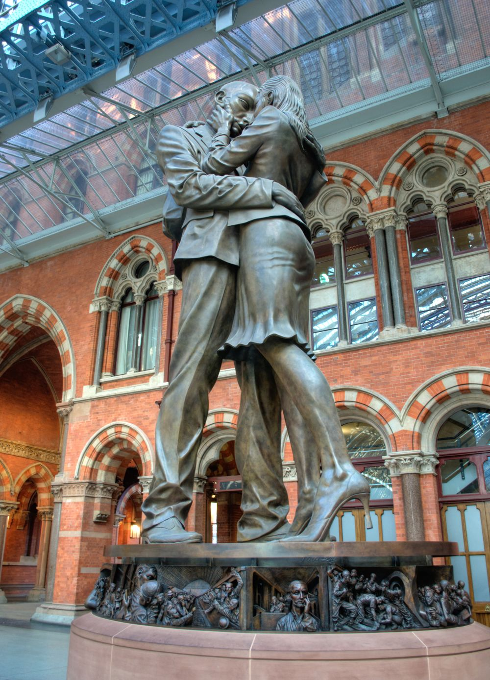 The Meeting Place St Pancras Station